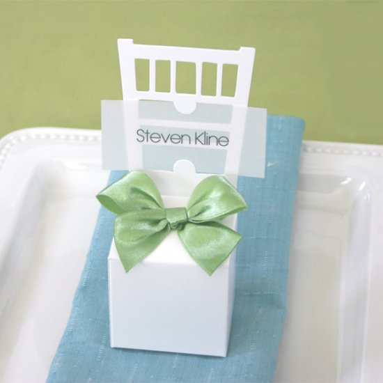 Chair Place Card Boxes (set of 12) -