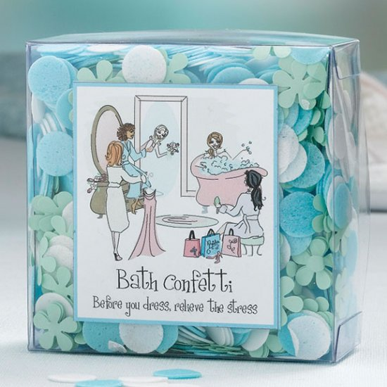 Wedding Party Fragrant Bath Confetti