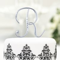Monogram Cake Toppers |