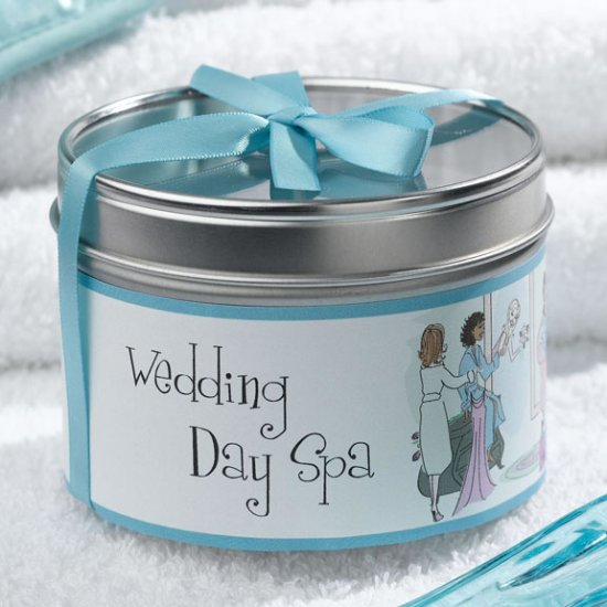 Wedding Party Travel Candle
