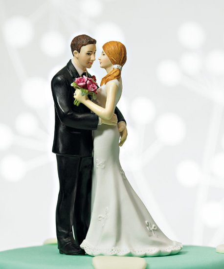 "Cheeky Couple Figurine ""My Main Squeeze\"""