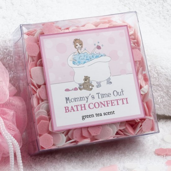 Bath Confetti Green Tea Scent