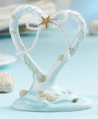 Coastal Sea Beach Cake Topper