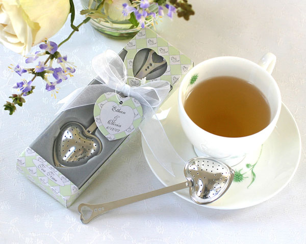 Heart Tea Infuser in Tea-Time Gift Box
