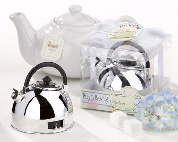 "Baby is Brewing"" Teapot Timer\"""